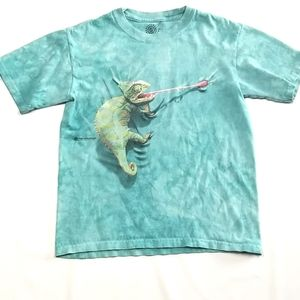 The Mountain Youth Tie Die Tee Shirt Size Large